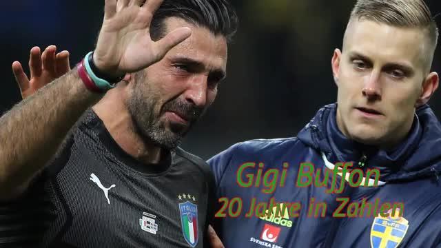 Nach Buffon-Rücktritt: Gigis Karriere in Zahlen