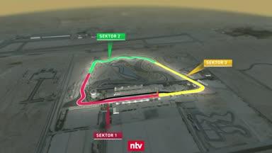 """Das ist die """"neue"""" Formel-1-Strecke in Bahrain"""