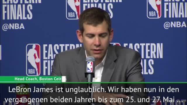 """Stevens: LeBrons Konstanz """"einfach irre"""""""
