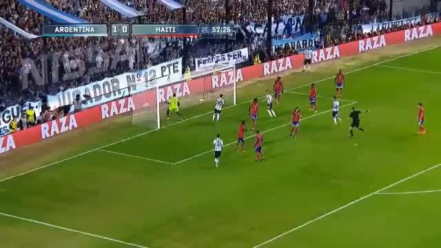 Argentinien: Messi erlegt Haiti im Alleingang
