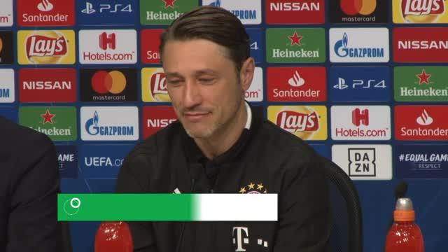 Kovac: Robben? Wird spielen und ist motiviert