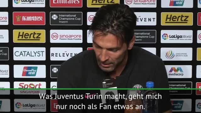 Buffon zu Juve: Nur noch als Fan interessant