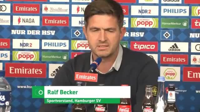 HSV-Sportchef Becker: Darum musste Titz gehen