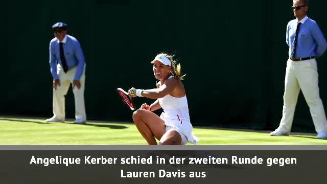 Kerbers Wimbledon-Traum platzt frühzeitig