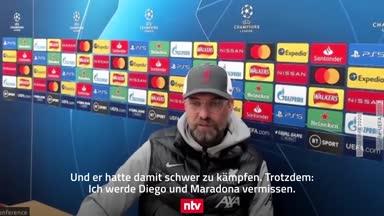 "Klopp: ""Es gab 'Diego' und es gab 'Maradona' ..."""