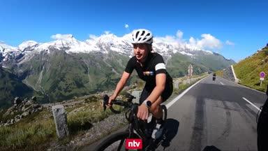 So quälte sich Jana Azizi auf ihrer Alpen-Tour