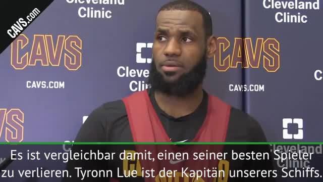 "LeBron James: Lue ""Kapitän unseres Schiffs"""