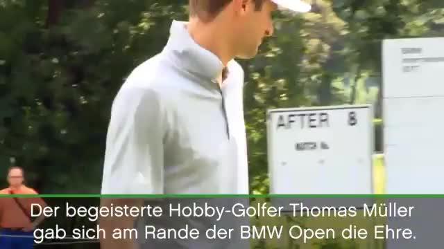 BMW Open: Müller versagt beim Putten