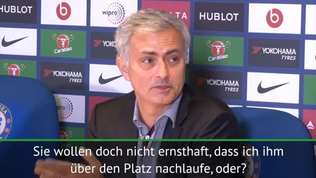 "Mourinho: Handshake? ""Laufe Conte nicht nach"""