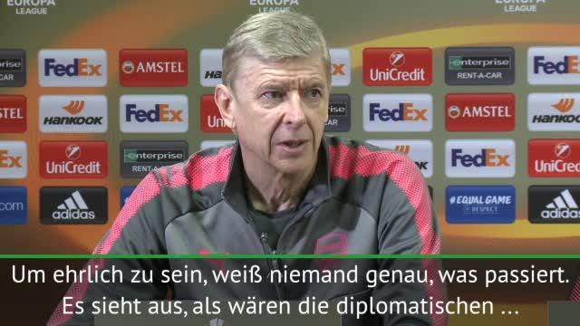 Wenger: Sorge um englisch-russische Beziehungen