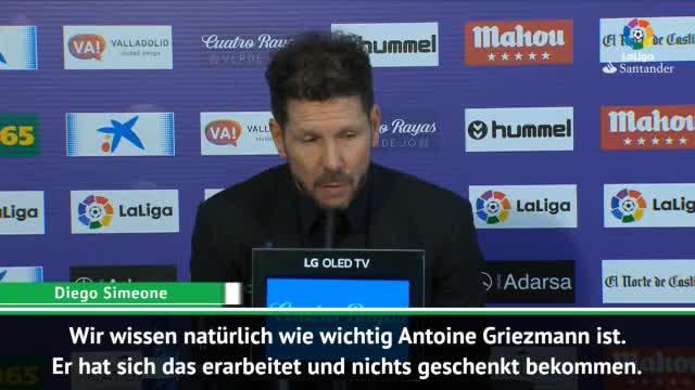 """Simeone: """"Griezmann nichts geschenkt bekommen"""""""