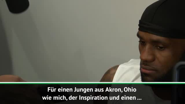 "James emotional: ""Wollte sein wie MJ"""