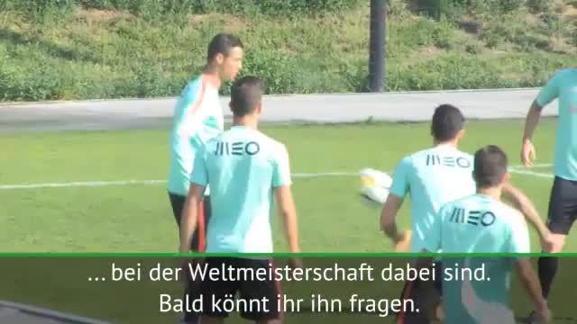 "Pepe weiß: ""Ronaldo will gewinnen"""