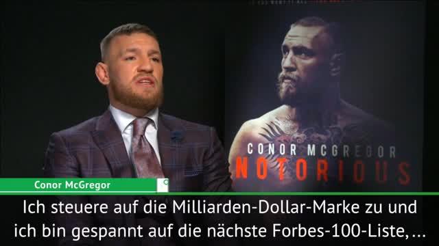 """McGregor: Forbes? """"Will Ronaldo überholen"""""""