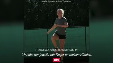 Das Tennis-Märchen der Francesca Jones