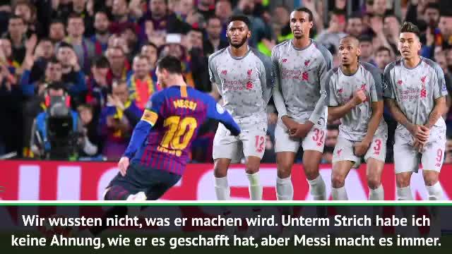 """Valverde über Messi: """"Flößt Gegnern Angst ein"""""""