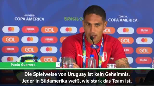 """Guerrero vor Uruguay: """"Es hängt von uns ab"""""""
