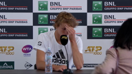 """Rom: Ratloser Zverev: """"Match war schrecklich"""""""