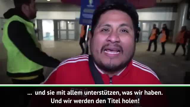 Peru-Fans nach Finaleinzug im siebten Himmel