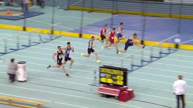 Hallen-DM: Gregor Traber sprintet zum Sieg über 60m