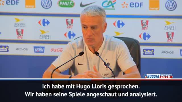 """Deschamps zu Lloris: """"Besser jetzt als bei WM"""""""