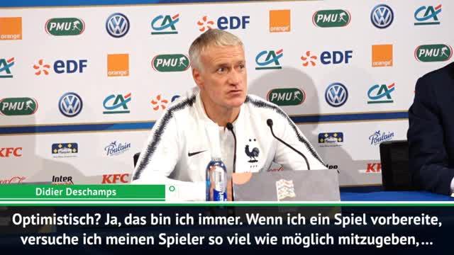 Deschamps: Muss Spieler vor Deutschland warnen