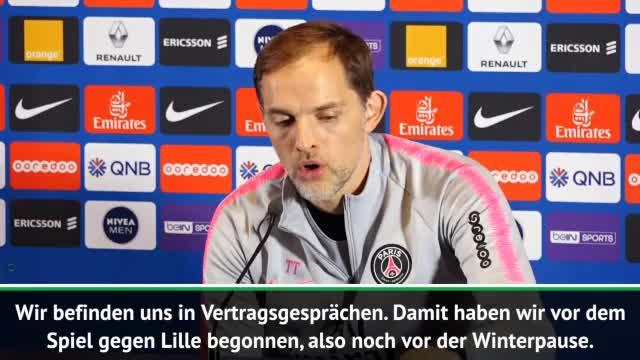 """Tuchel zu PSG-Vertrag: """"Gespräche, aber ... """""""