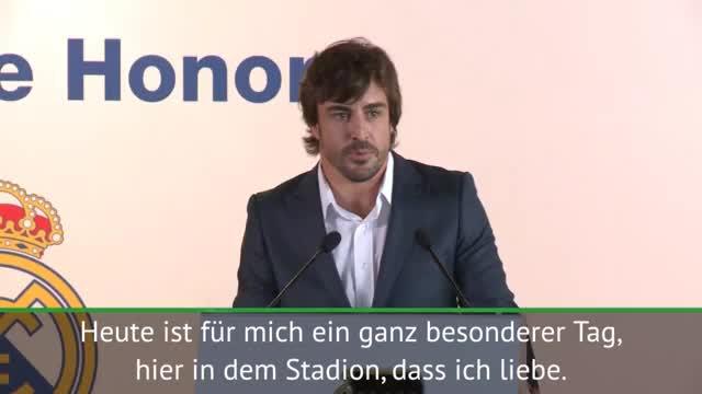 "Alonso wird Real-Ehrenmitglied: ""Bin stolz"""