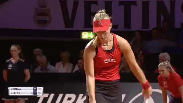 Stuttgart: Kerber glückt Revanche gegen Kvitova