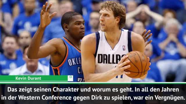 Durant: Nowitzkis Erbe ist für die Ewigkeit