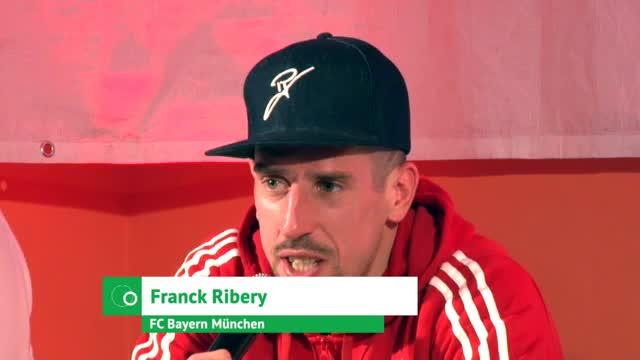 """Ribéry: """"Meine Familie ist in München zuhause"""""""