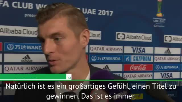 """Kroos: """"Sind gekommen um zu gewinnen"""""""