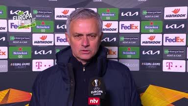 Mourinho: Ich muss Zagreb einfach loben