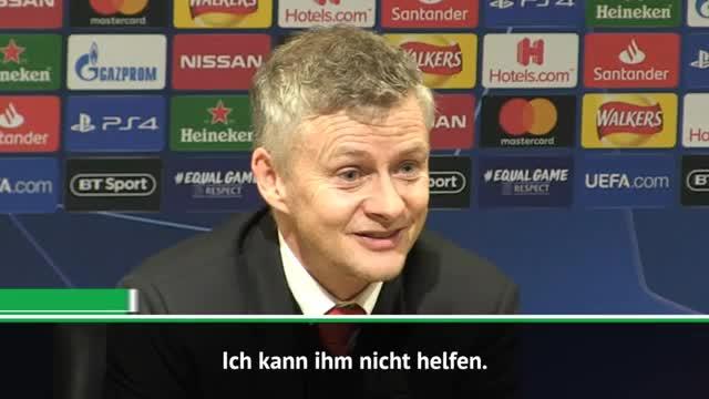 """Solskjaer zu Sanchez: """"Kann ihm nicht helfen"""""""