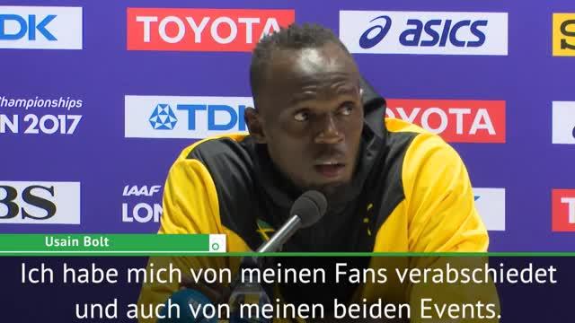 """Bolt aufgewühlt: Bei Abschied """"fast geweint"""""""