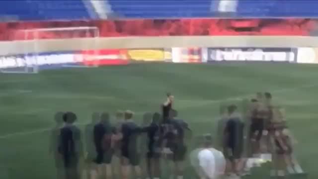 Traumtor! Neymar jubelt wie Cristiano Ronaldo