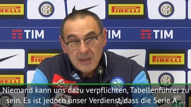 """Sarri: Wollen Juve """"in die Eier treten"""""""