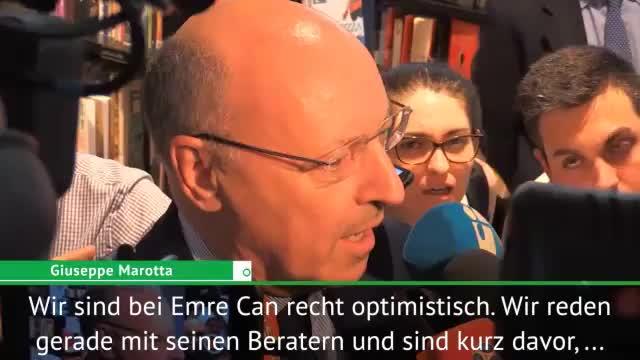 """Juve-Präsident: Can? """"Kurz vor der Einigung"""""""