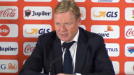 Koeman: Bei Belgiens Tor fast applaudiert