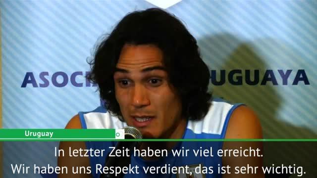 "Cavani: ""Haben uns Respekt verdient"""