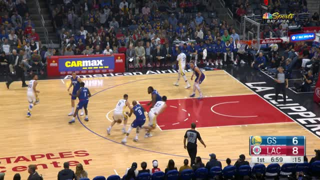 45 Punkte! Curry versenkt die Clippers