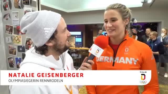 """Gold-Rodlerin Geisenberger: """"Geil!"""""""