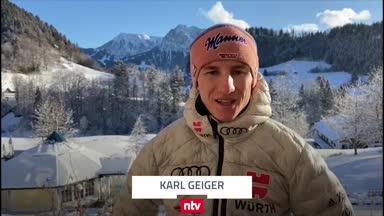 So denkt Karl Geiger über seinen Tournee-Traumstart