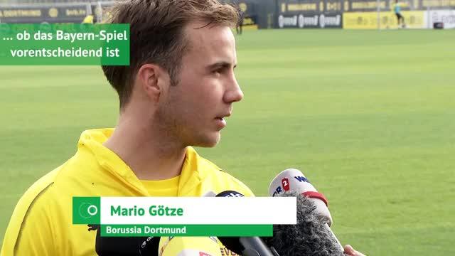 Götze über Bayern, BVB-Mentalität und Vater Reus