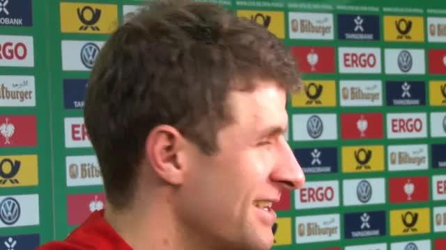 """Müller: """"Immer was los beim FC Bayern"""""""