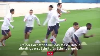 So läuft Lionel Messis Training bei PSG