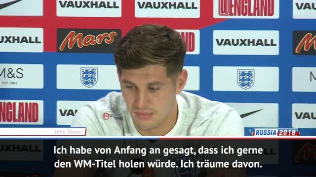 """Stones: WM-Titel für England? """"Warum nicht?"""""""