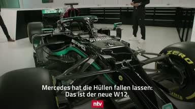 Mercedes lässt die Hüllen fallen: Das ist der neue W12