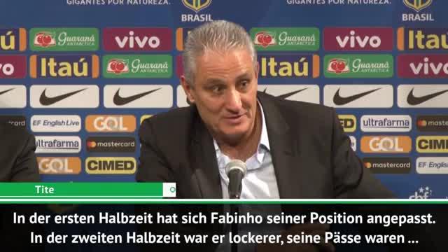 "Brasilien-Boss Tite: ""Fabinho hat Qualität"""