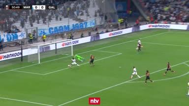Marseille vergibt Riesenchance